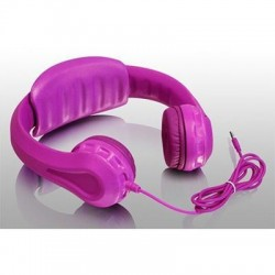 Wired Foam Headphones Kids Pnk