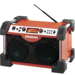 Fatbox Am FM Utility Radio Red