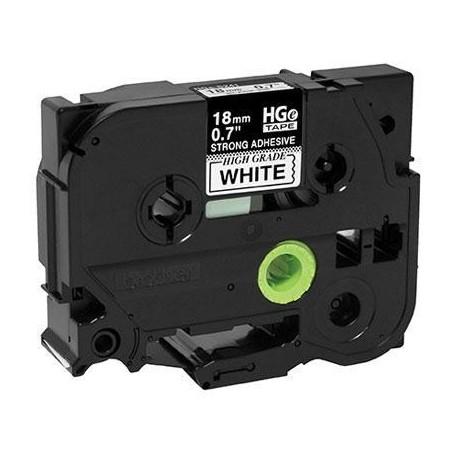 Black Ink On White Tape 5 Pack
