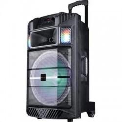 "15"" Port Bluetooth DJ Speaker With Disco"