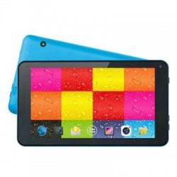 "7"" Quad Core Tablet Blue"