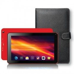 "7"" Bluetooth Tablet With Kybrd Cs Red"