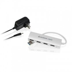 Alum USB 3.0 4 Port Hub With Ps